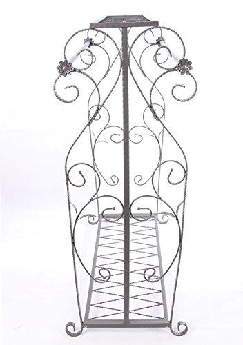 Decorative Grey Steel Iron Garment Coat Rack (Y009D) 5