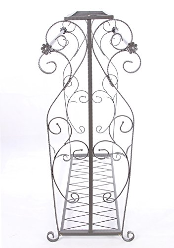 Decorative Grey Steel Iron Garment Coat Rack (Y009D) 5