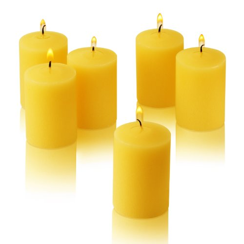 Citronella Yellow Votive Candles (Set of 36)