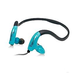 Amkette Pulse S8 695BL Headphones with Mic (Blue)