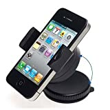 Guilty Gadgets - 360 Rotating Compact Car Holder For Nokia Lumia 800, Lumia 900, N85, N86 8MP, N900, N97
