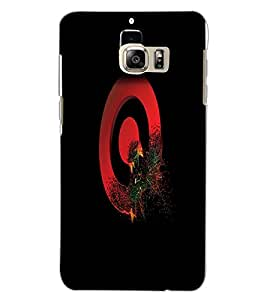 SAMSUNG GALAXY S6 EDGE PLUS SYMBOL Back Cover by PRINTSWAG