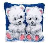 Vervaco KK3562 Knüpfkissen Baby Bären hergestellt von Vervaco