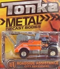 Tonka Metal Diecast Bodies - Roadside Assistance City Defenders
