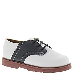 Natural Steps Clay Oxford (Infant/Toddler),White/Navy,2 M US Infant
