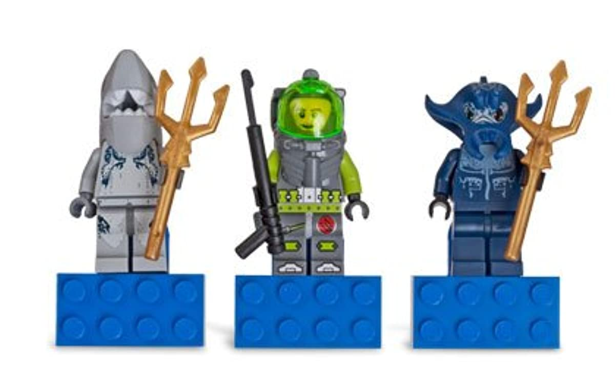 [해외] LEGO 852777 ATLANTIS 마그넷 DEEP-SEA DIVER,MANTA WARRIOR AND SHARK WARRIOR 레고 아틀란티스
