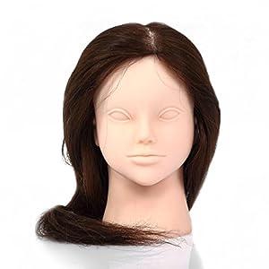 CoastCloud Nouvelle 90% Vrais Longue Perruque moderne jeune femme Raide Droite 57cm