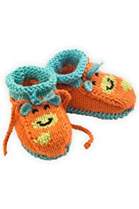 Joobles Organic Baby Booties - Jiffy the Giraffe