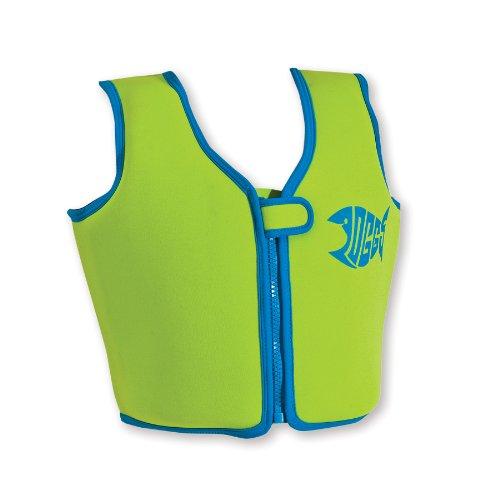 Zoggs Fixed Buoyancy Swim Jacket Green 2-3 years
