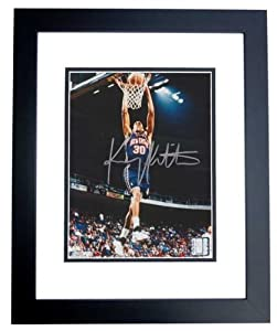 Kerry Kittles Autographed Hand Signed New Jersey - Nets 8x10 Photo - BLACK CUSTOM... by Real+Deal+Memorabilia