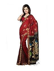 Bengal Handloom Silk Floral Saree