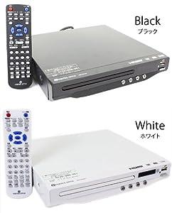 VERTEX DVD-V014   CPRM対応DVDプレーヤー 地デジ対応 HDMIケーブル付属 USB端子搭載 ヴァーテックス Vertex (ホワイト)