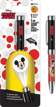 Mickey Mouse Projector Pen