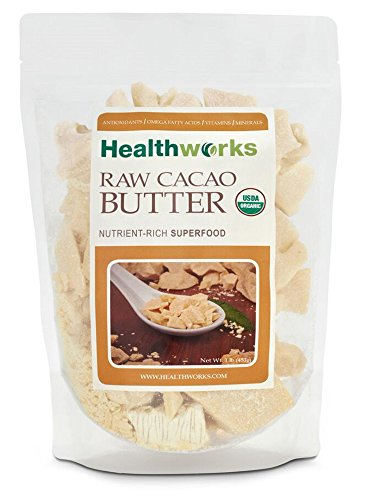 Healthworks-Cacao-Butter-Raw-Organic-1lb