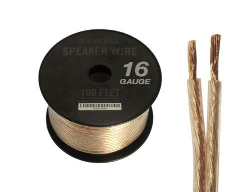 Sewell 16-Gauge Speaker Wire, 100 Ft.