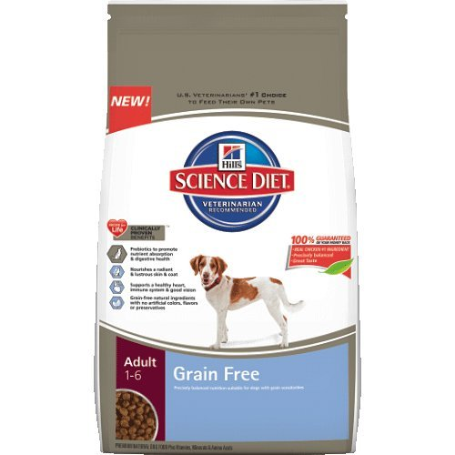 Hills Science Diet Adult Grain Free Dog Food, 21-Pound Bag