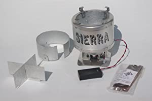 Sierra Stove lightweight woodburning backpacking stove With Upgrade Kit by Sierra Stove