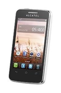 Alcatel One Touch Tribe 3040 - Telefono cellulare sbloccato Bluetooth WiFi, colore: Bianco