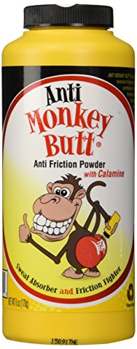 Anti Monkey Butt Powder with Calamine - 6 oz.