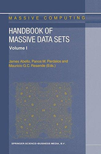 Handbook of Massive Data Sets (Massive Computing)