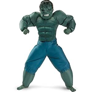 Amazon.com: The Indcredible Hulk Inflatable Costume: Boys Size 4-6: Toys & Games