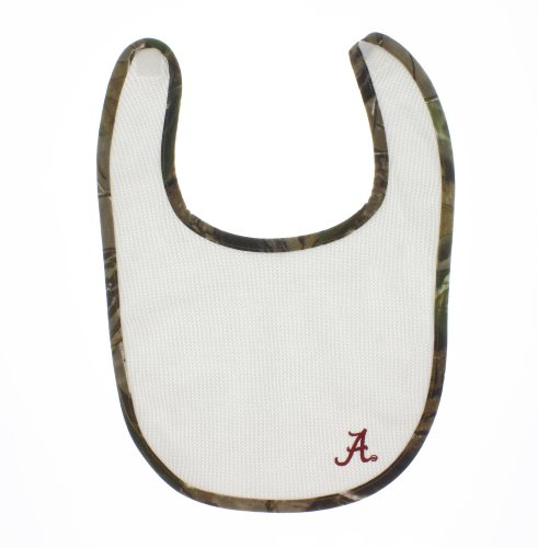 Cheer for the Team Camo Baby Bib