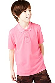 Limited Short Sleeve Neon Polo Shirt