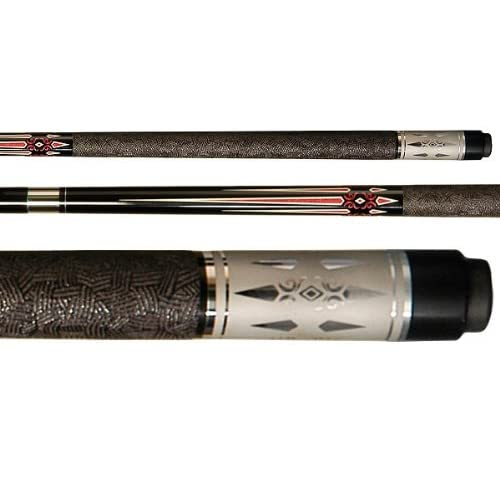Amazon.com : Imperial Victory Series Black with Red Prongs Pool Cue