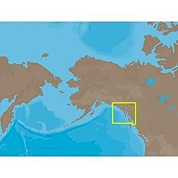 C-Map Na-C801 C-Card Format Dixon Entrance - Icy Bay