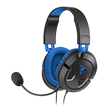 Turtle Beach Recon 60P Amplified Stereo Gaming Headset - PS4 and Xbox One (compatible w/ Xbox One controller w/ 3.5mm headset jack)