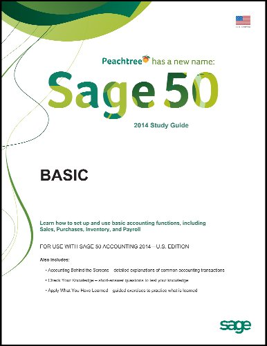 Sage 50 2014 Basic Self-study Guides for Sage