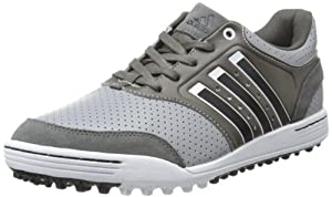 adidas Men's Adicross III Golf Shoe,Midgrey/R.Wh/Dark Cinder,10.5 M US
