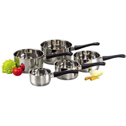 Lot de 5 casseroles ''Essential'' Ø 12, 14, 16, 18 et 20 cm