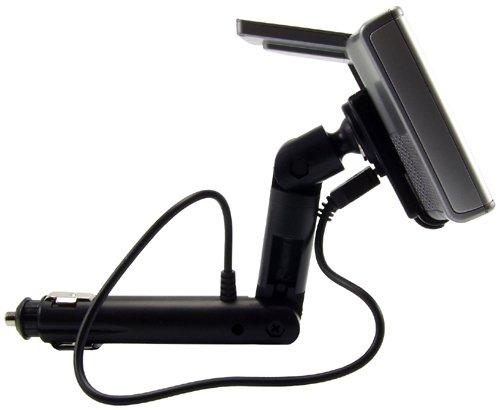 Arkon GPS Car Mount for Garmin nuvi 50 200 2013 24x5 25x5 Series GPS Lighter Socket Mount with Mini USB Charging Cable