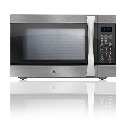 Kenmore Elite 1.5 cu. ft. Countertop Microwave w/ Convection Stainless ...