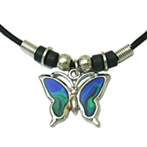 Mood Pendant Butterfly Necklace