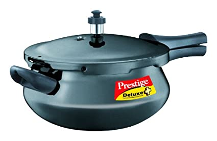 Prestige-Deluxe-Plus-Hard-Andoized-Junior-Handi-4.8-L-Pressure-Cooker-(Induction-Base,-Outer-Lid)