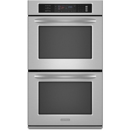 double wall ovens: Reviews KitchenAid KEBS208SSS 30 Double ...