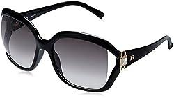 Escada Oversized Sunglasses (Black) (SES 185S|0Z42|59)