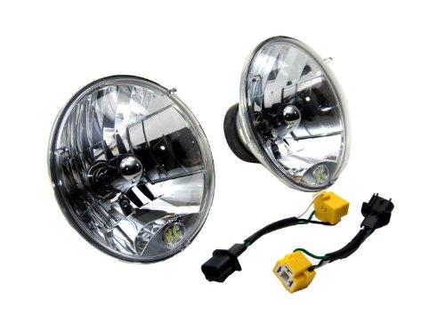 Kc Hilites 42302 H4 Headlight Conversion Kit For Jeep Jk