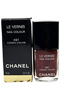 Chanel Le Vernis Nail Color No. 497 Cosmic Violine