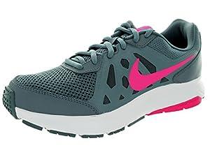 Nike Women's Dart 11 Bl Grpht/Pnk Fl/Dv Gry/White Running Shoe 7.5 Women US