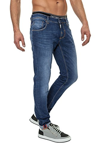 Antony Morato Jeans da uomo Pantaloni Denim Blau (7010) W36