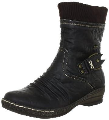 Rieker 90182-27, Damen Fashion Halbstiefel & Stiefeletten, Braun (testadimoro/marron 27), EU 36