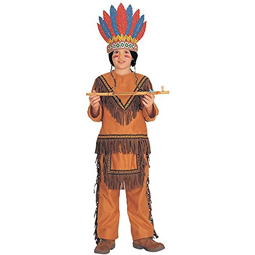Native American Indian Boy Kids Costume