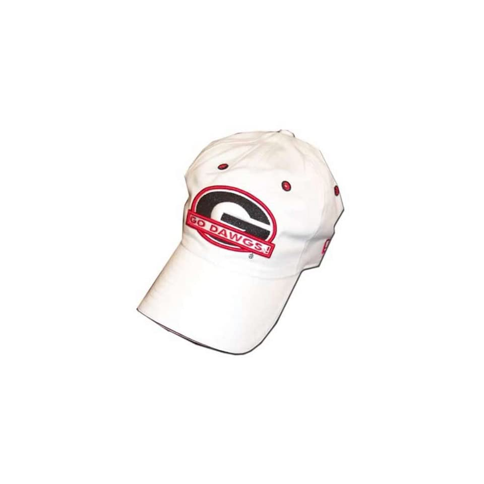 17e822cbc26 New Era Georgia Bulldogs White Buca Hat on PopScreen