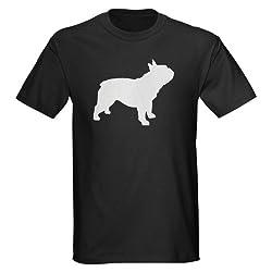 french bulldog Dark T-Shirt by CafePress - L Black