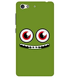 Chiraiyaa Designer Printed Premium Back Cover Case for Gionee S6 (smiley) (Multicolor)