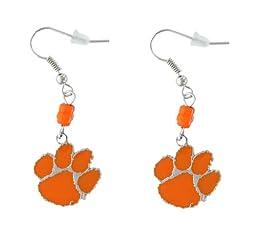 NCAA Clemson Tigers Sophie Beaded Earrings