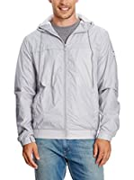 FRENCH COOK Chaqueta Impermeable Raincoat (Gris Claro)